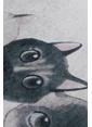 Chilai Home Angry Cats Paspas 40x60 Cm Siyah